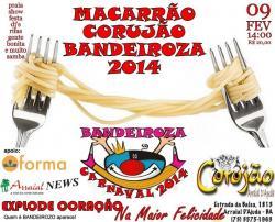 Macarrão Corujão Bandeiroza 2014