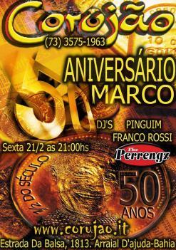 Aniversário do Marco - 50 anos !