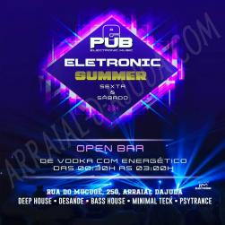 panfleto Electronic Summer
