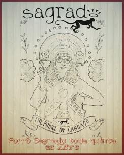 panfleto Forró Sagrado