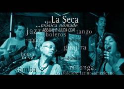 panfleto La Seca Música nómade