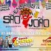 panfleto Ensaios de São João - Forró Lascado