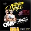 panfleto Happy Hour - Grupo OMP + Dj Pakito