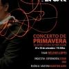 panfleto Concerto de Primavera