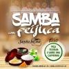 panfleto Feijoada com Samba InCasa e Gabriela Maja