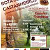 panfleto XVª Rota dos Castanheiros