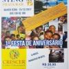 panfleto 1ª Festa de Aniversário da Crescer