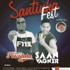 panfleto Santinha Fest
