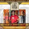 panfleto Os 3 da Vila e Juninho Billy Joe
