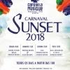 panfleto Carnaval Sunset 2018