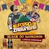 panfleto Forró do Zabumbar - Black do Acordeon + Luccas Rodrigues