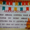 panfleto Arraiá do CRAS