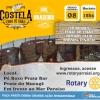 panfleto Churrasco Fogo de Chão do Rotary Club Arraial d'Ajuda