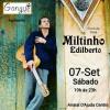 panfleto Forró ao vivo - Miltinho Edilberto