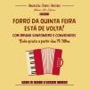 panfleto Forró da Quinta