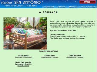 panfleto Pousada San Antônio