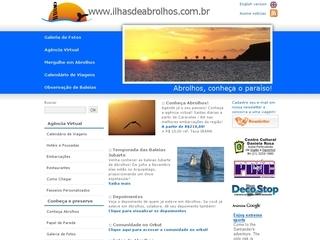 panfleto Parque Nacional Marinho dos Abrolhos