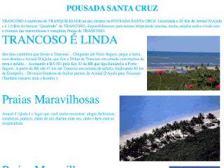 panfleto Pousada Santa Cruz