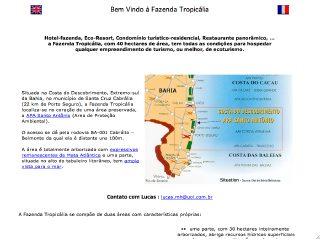 panfleto Fazenda Tropicália