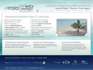 panfleto Arraial Web Design - Criação de Site - Hospedagem