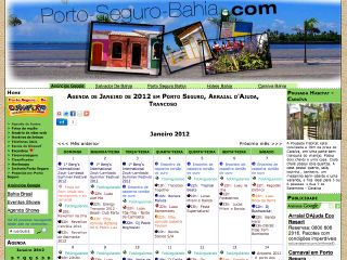 panfleto Agenda Porto Seguro 2019/2020