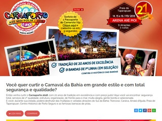 panfleto Carnaval Axé Moi 2018 - Axé Moi Folia