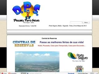 panfleto Descubra Porto Seguro