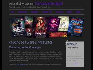panfleto  Arraial-d-Ajuda.net - Comunicação Digital