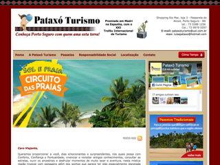 panfleto Pataxó Turismo